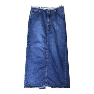 """Lucky Brand maxi skirt modest hem W30"""" L36"""""""